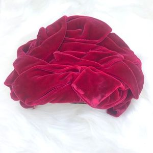 Vitnage Velvet Headband Hat made in California